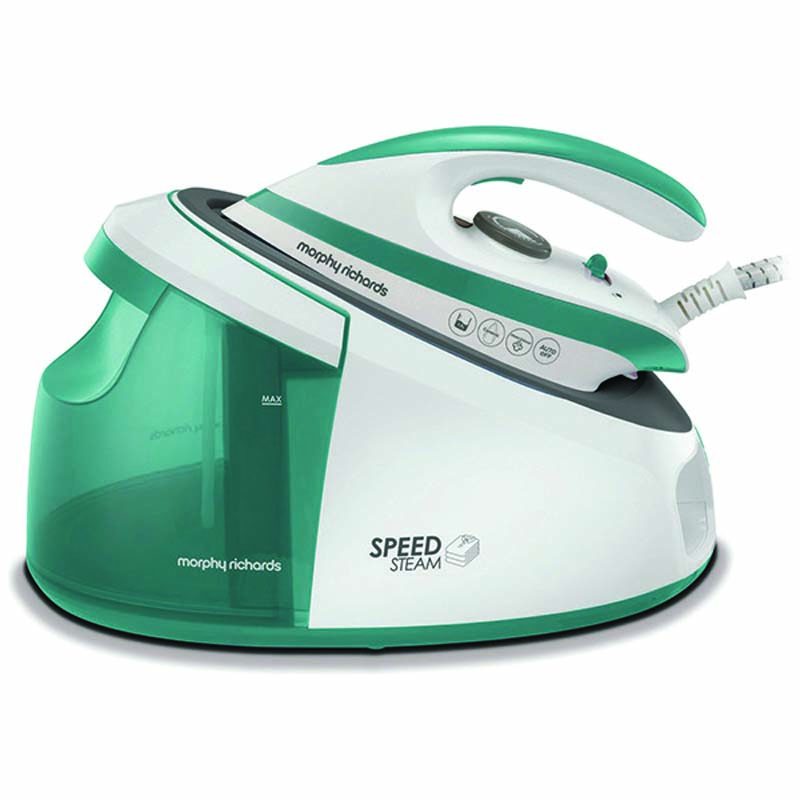MORPHY RICHARDS 333203 SPEED STEAM GENERATOR IRON TEAL