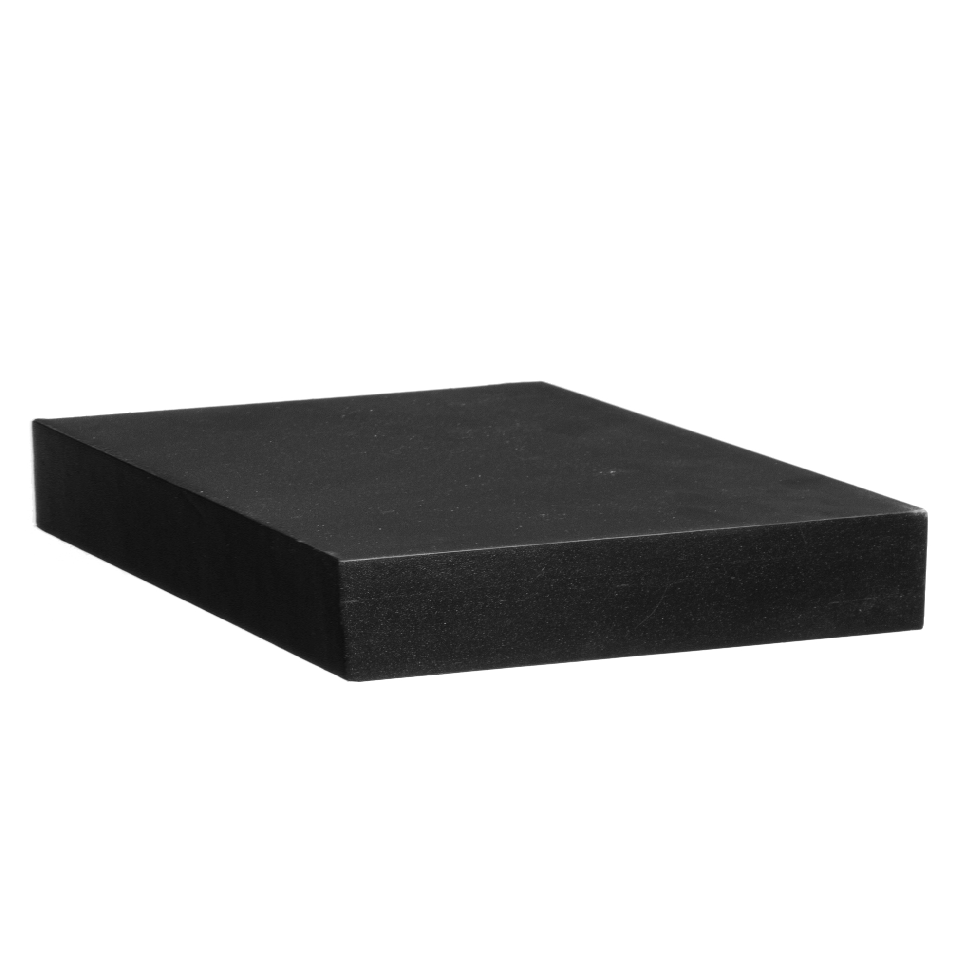 WALL SHELF CONCRETE 23,5CM BLK