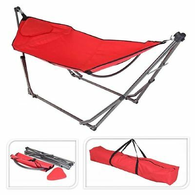 HAMMOCK POLYSTER RED COLOR